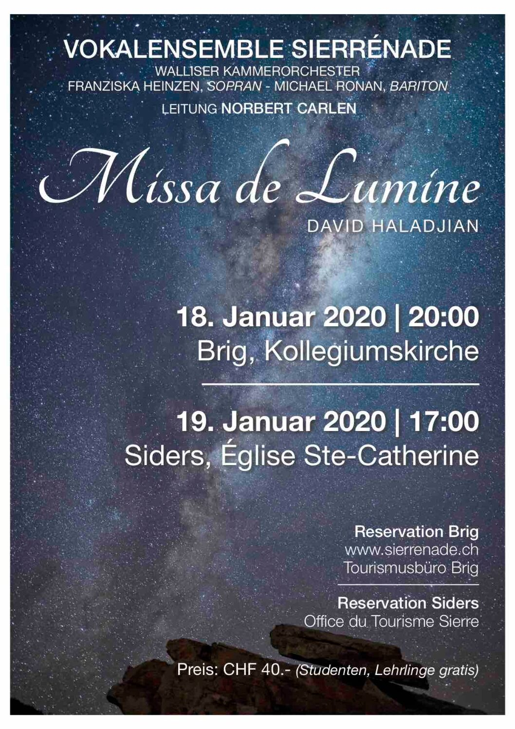 """Missa de Lumine"" 50-th performance"