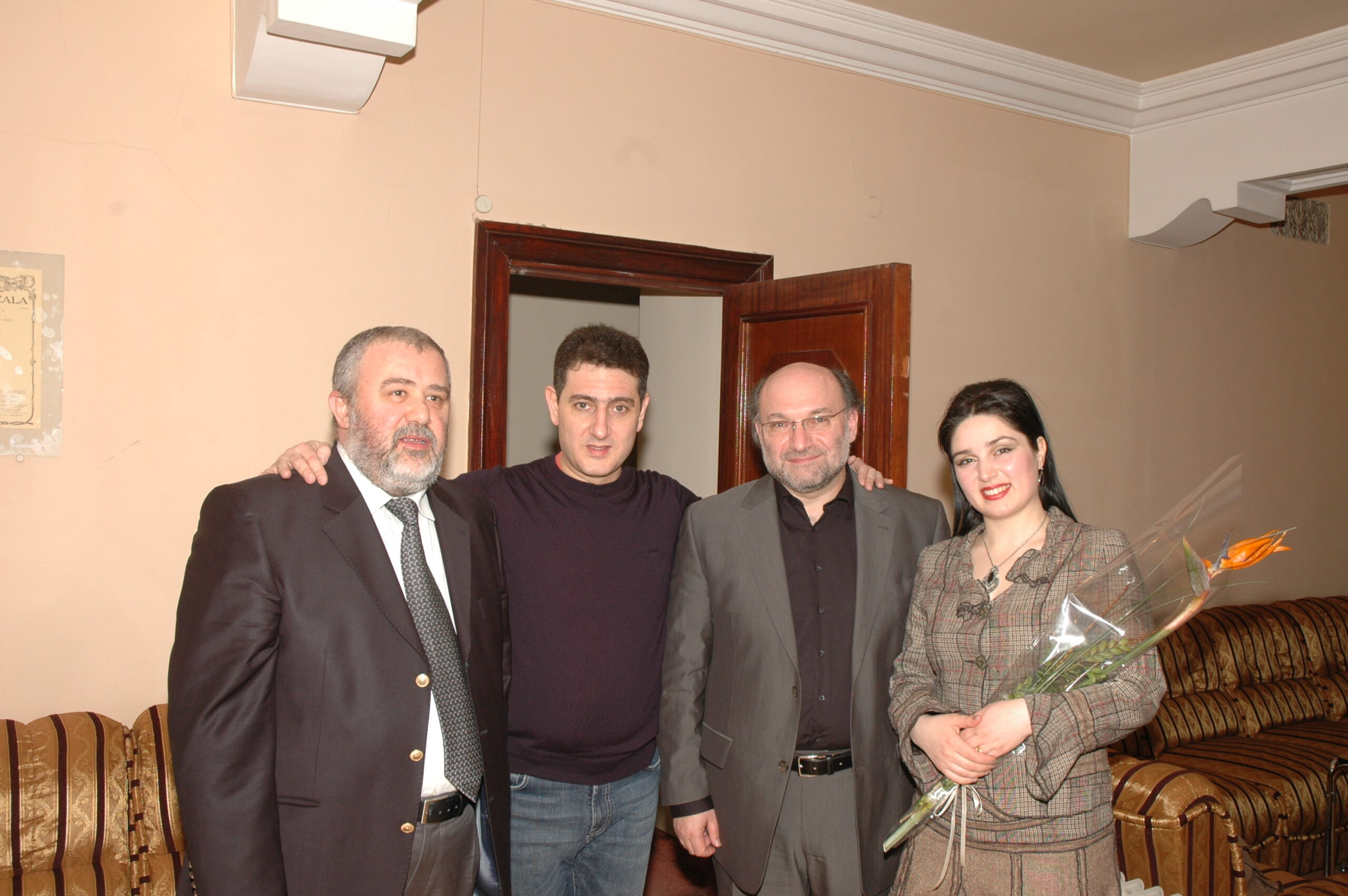 With Robert Mlkeyan, Eduard Topchyan, Syuzanna Melkonyan